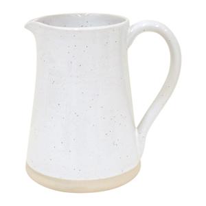 Bílý džbán z kameniny Casafina Fattoria,2l
