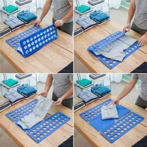 Modrá deska na skládání oblečení InnovaGoods