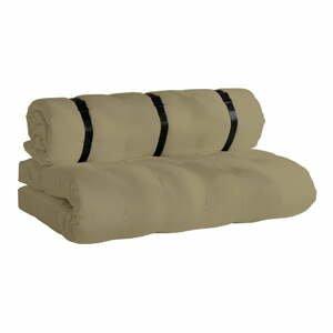 Béžová rozkládací pohovka vhodná doexteriéru Karup Design Design OUT™ Buckle Up Beige