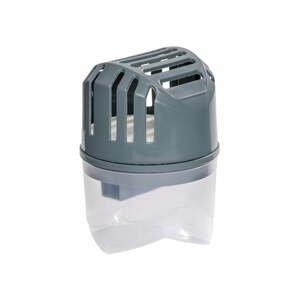 Šedý pohlcovač vlhkosti Wenko Damp, 250 g