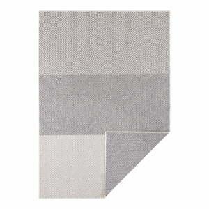 Světle šedý oboustranný venkovní koberec Bougari Maui, 120 x 170 cm