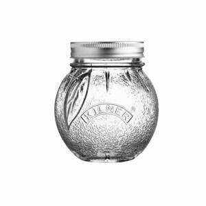Skleněná zavařovací sklenice s víčkem Kilner Pomeranč, 0,4l