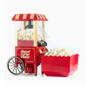 Červený popcornovač InnovaGoods Popcorn Maker
