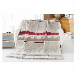 Deka s příměsí bavlny Aksu Bianna, 220 x 180 cm