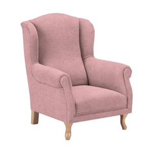 Růžové dětské křesílko KICOTI Comfort