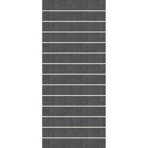 Tmavě šedý běhoun Floorita Oslo, 60 x 115 cm