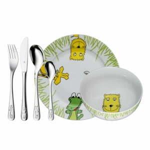 6dílný dětský jídelní set WMF Cromargan® Safari
