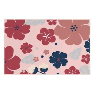 Růžový koberec Oyo home Kayla, 100x140cm