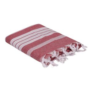 Červený ručník, 170 x 90 cm