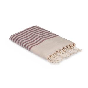 Červeno-bílý ručník, 170 x 90 cm