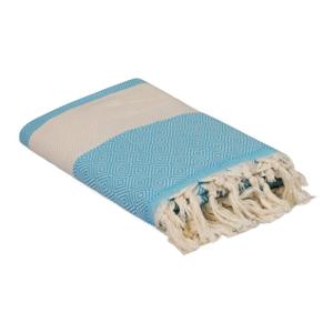 Tyrkysový ručník Elmas, 180 x 100 cm