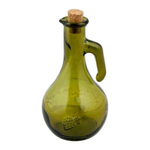 Zelená láhev na ocet z recyklovaného skla Ego Dekor Di Vino, 500 ml