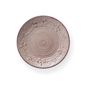 Pískově hnědý kameninový talíř Brandani Serendipity, ⌀21cm