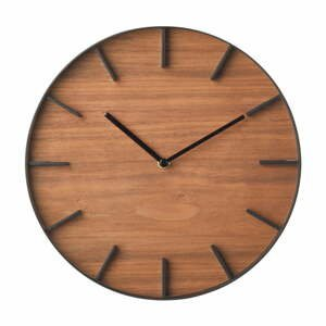 Nástěnné hodiny YAMAZAKI RIn Oscuro, ⌀27cm