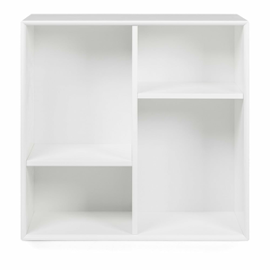 Bílá police Tenzo Z Cube, 70x70cm