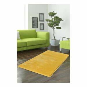 Žlutý koberec Milano, 140x80cm
