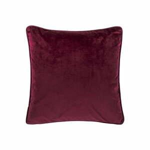 Tmavě fialový polštář Tiseco Home Studio Velvety, 45x45cm
