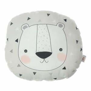 Dětský polštářek s příměsí bavlny Apolena Pillow Toy Argo Bear, 30 x 33 cm