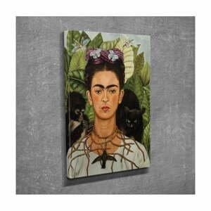 Nástěnná reprodukce na plátně Frida Kahlo, 30 x 40 cm