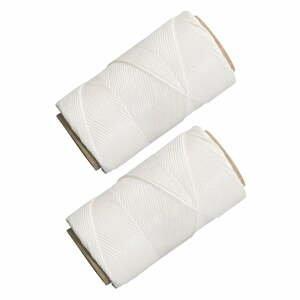 Sada 2 bílých provázků na pečení Westmark Baker, délka 60m