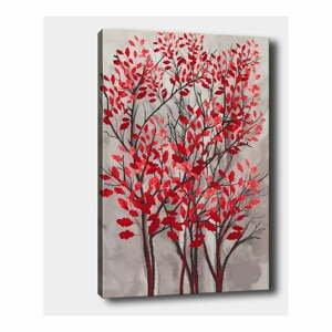 Nástěnný obraz na plátně Tablo Center Fall Red, 40 x 60 cm