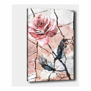 Nástěnný obraz na plátně Tablo Center Lonely Rose, 40 x 60 cm
