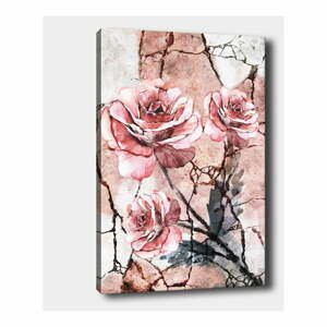 Nástěnný obraz na plátně Tablo Center Lonely Roses, 40 x 60 cm