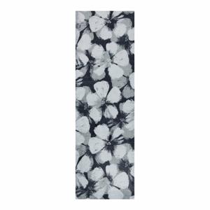 Šedý běhoun White Label Grau, 50 x 150 cm