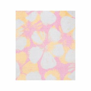 Růžový koberec White Label Rosa, 50 x 70 cm