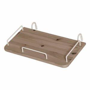 Hnědý závěsný noční stolek z borovicového dřeva k dětské posteli Flexa Classic