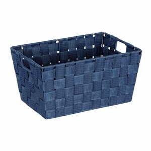 Tmavě modrý košík Wenko Adria, 20x30cm