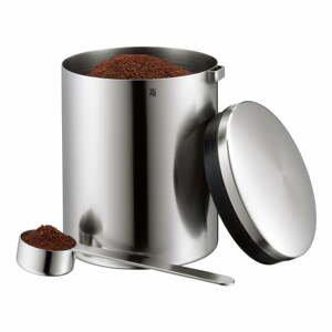 Dóza na kávu z nerezové oceli Cromargan® WMF Kult, výška 13,5 cm
