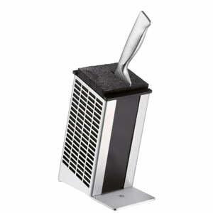 Blok na nože z nerezové oceli Cromargan® WMF, výška 22 cm