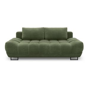Zelená třímístná rozkládací pohovka Windsor & Co Sofas Cumulus
