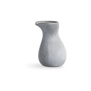 Světle šedá kameninová mléčenka Kähler Design Mano, 1 l