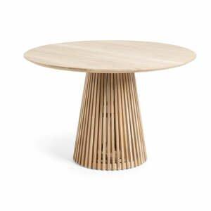 Jídelní stůl z týkového dřeva La Forma Irune, ø 120 cm