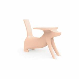 Světle růžová dětská stolička Magis Le Chien