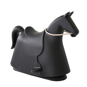 Černá dětská stolička ve tvaru koně Magis Rocky, výška71,5cm