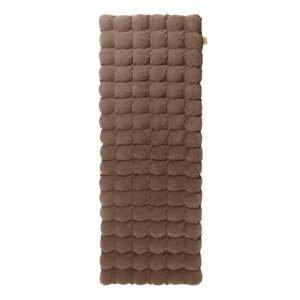 Hnědá relaxační masážní matrace Linda Vrňáková Bubbles, 65x200cm