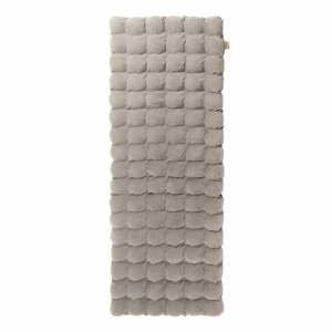 Světle šedá relaxační masážní matrace Linda Vrňáková Bubbles, 65x200cm
