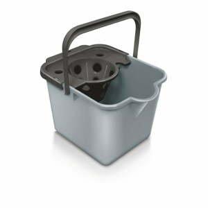 Šedý kbelík na mop Addis Pail & Wringer