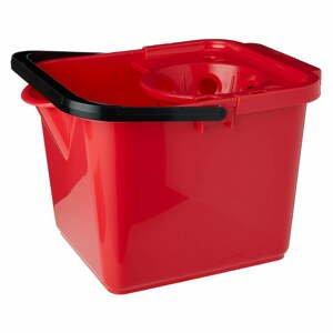 Červený kbelík na mop Addis Pail & Wringer