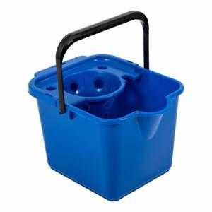 Modrý kbelík na mop Addis Pail & Wringer