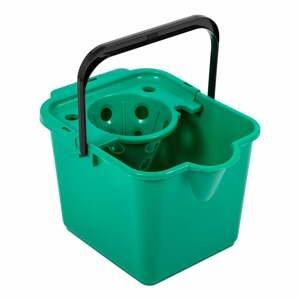 Zelený kbelík na mop Addis Pail & Wringer