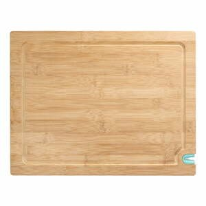 Krájecí prkénko z bambusového dřeva s bruskou na nůž, 36 x 28 cm