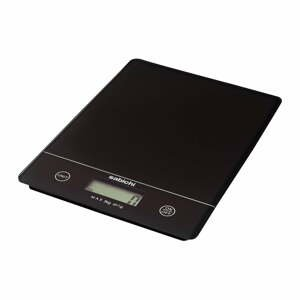 Černá digitální kuchyňská váha Sabichi
