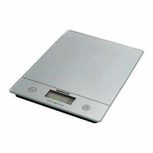 Digitální kuchyňská váha ve stříbrné barvě Sabichi