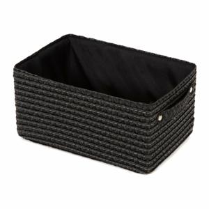 Černý úložný košík Compactor Lilou Basket Black