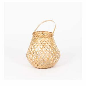 Bambusová lucerna Compactor Bamboo Lantern, ⌀ 25 cm