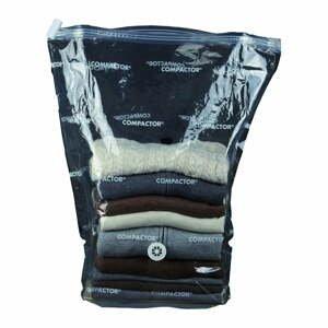 Vakuový úložný obal na oblečení Compactor Cubic Vacuum Bag, 50 x 30 x 60 cm